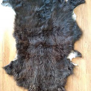 Sheepskin black 42x 24 front $85