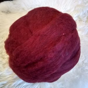Brick Red Roving