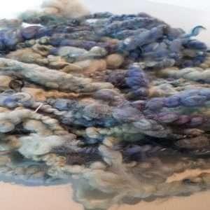 Art yarn aqua 4.8oz 14yds